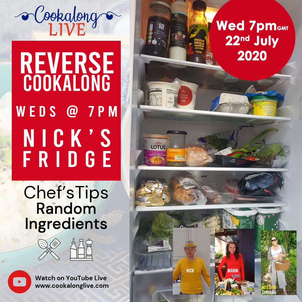 Chef's Challenge... Whats in the fridge?