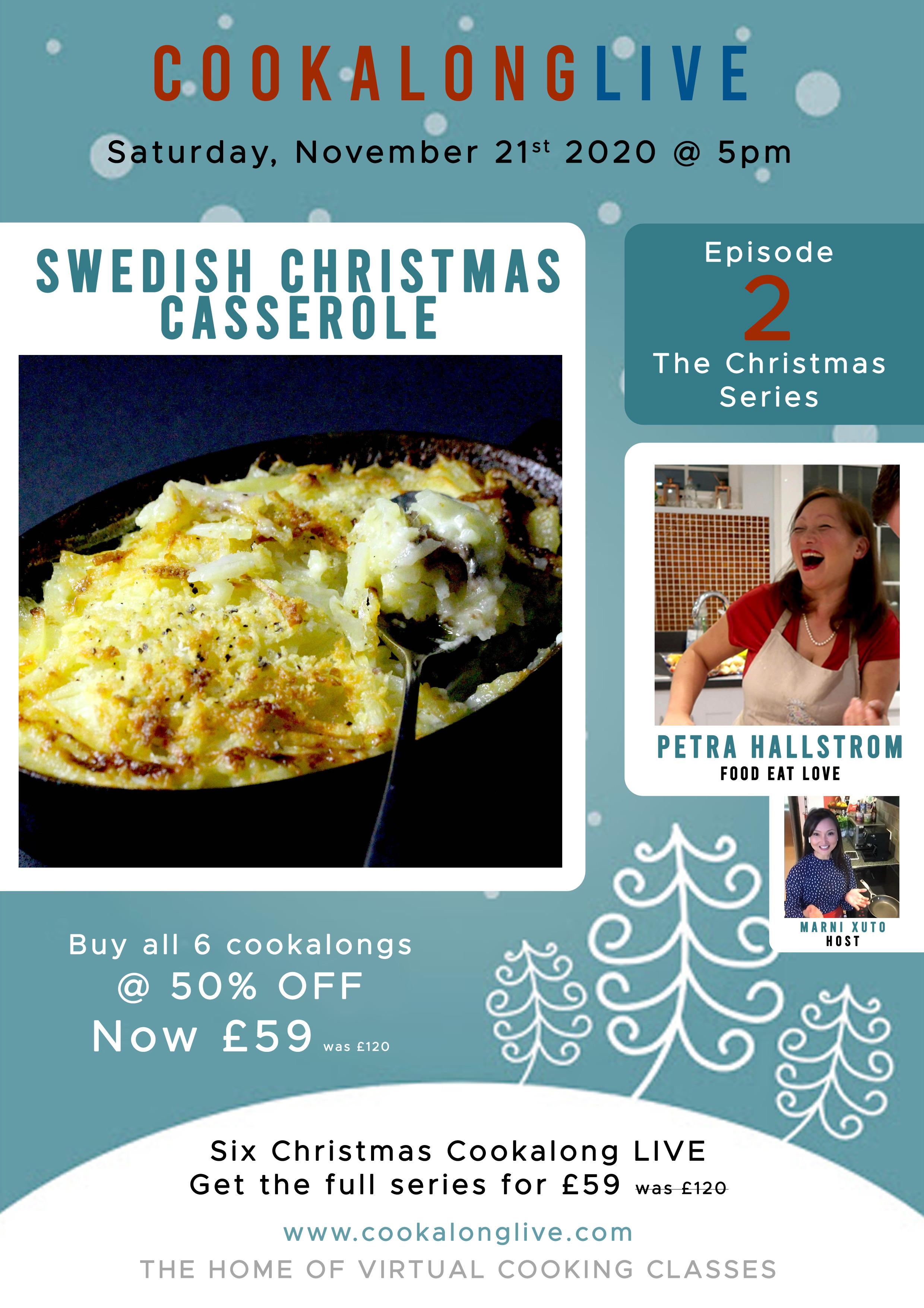 Swedish Christmas Casserole  Cooking Class